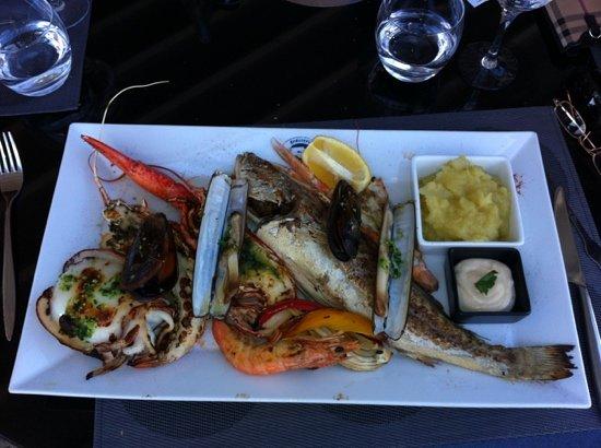 La Brasserie Barba: Die kleine Fischplatte für einen Esser