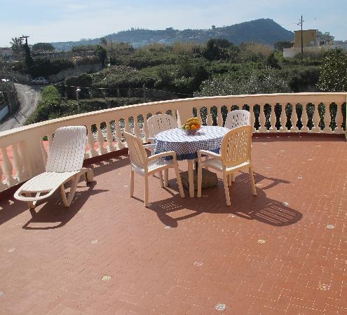 Park Hotel Residence Villa Marinu': terrazza