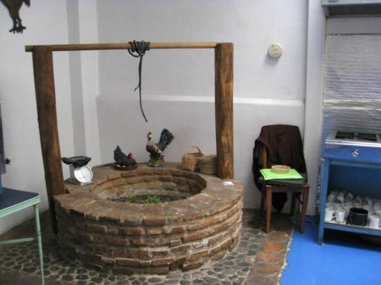 Casa Ordonez: Original well in kitchen, no longer in use