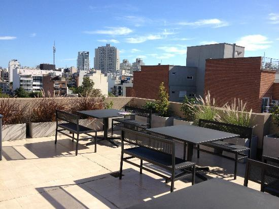 Palermo Place by P Hotels: Roof top terrace