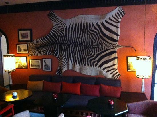 Villa Mandarine: The lounge.
