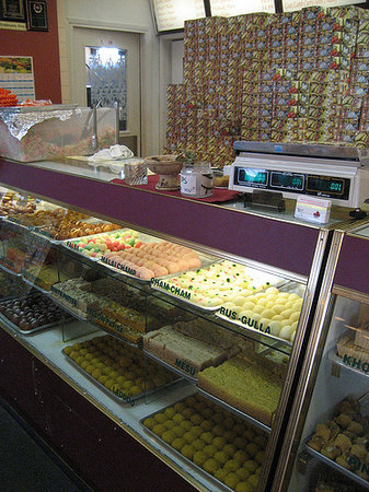 Punjab Sweets & Restaurant: A fast look on the sweets at Punjab. Only won't show the rude lady for the terrible service. lol