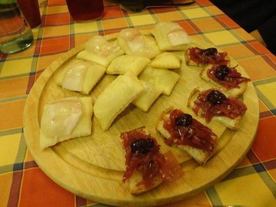 Pane e Cipolla: antipasto x 5 persone