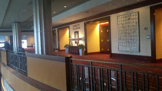 Indianapolis Marriott Downtown: The mezzanine level