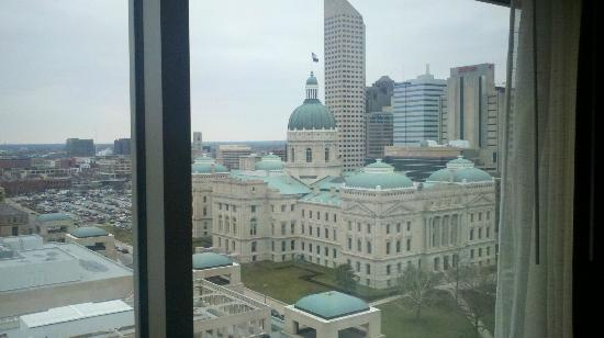 Marriott Indianapolis Downtown: The view from my room