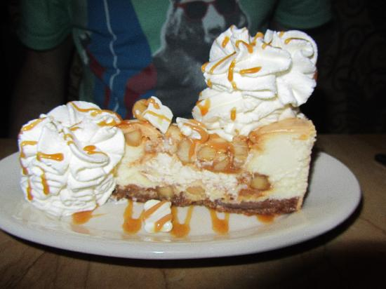 White Chocolate Caramel Macadamia Nut Cheesecake