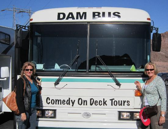 Look Tours: Our Dam Tour Bus