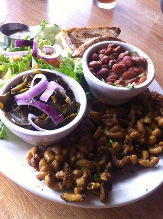 Sluggo's North Vegetarian Cafe : veggie plate- delicious!
