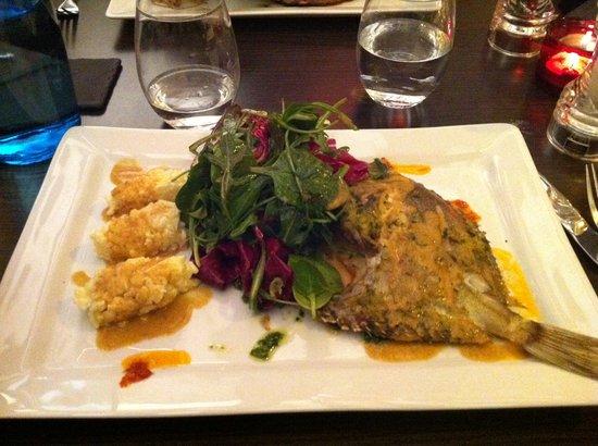 Le Colimacon: fish