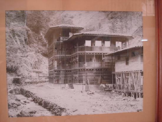 Termales Santa Rosa de Cabal - Hotel: 昔の展示写真