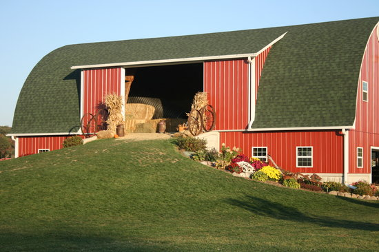 Fort Atkinson, WI: Play Barn and Hay Mow
