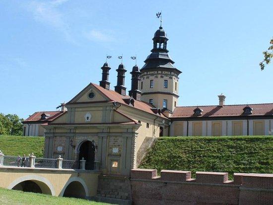 Nesvizh Castle: Nesvizh palace gates
