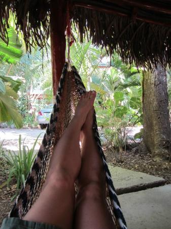 Nosara Paradise Rentals: Hammocks in cabana