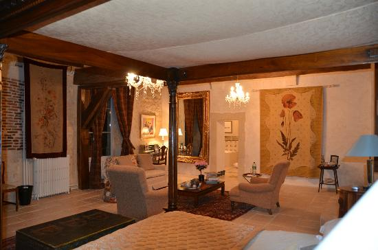 Chateau de Blavou : My favorite room.