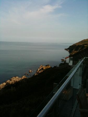 Cliff House Hotel: view from our balcony