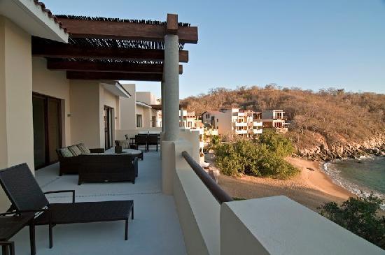 Celeste Beach Residences & Spa: From the patio