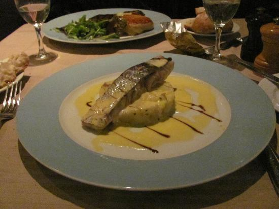Le galvacher : Fish, very well prepared