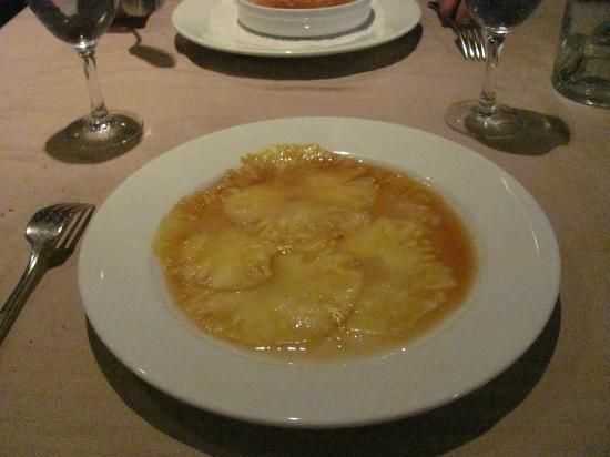 Le galvacher : Ananas carpaccio