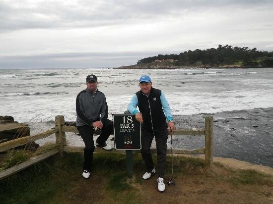 The Lodge at Pebble Beach: A dream moment