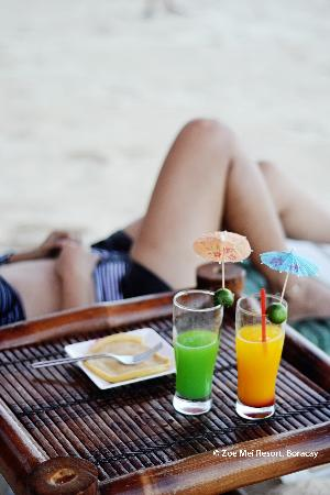 Zoe Mei Resort: Signature Drinks