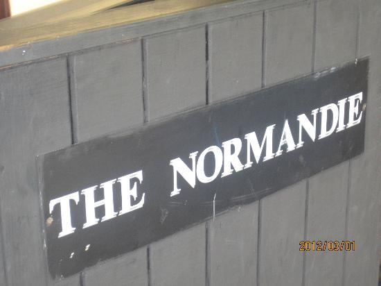 The Normandie Hotel & Conference Centre: sign