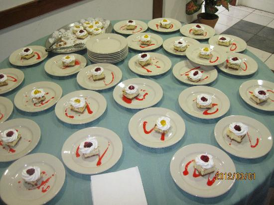 The Normandie Hotel & Conference Centre: dessert