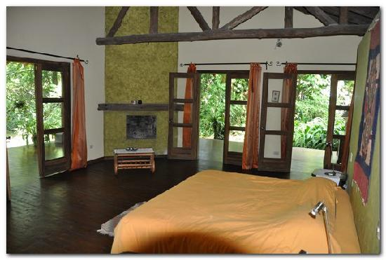Hacienda La Isla Lodge: La suite