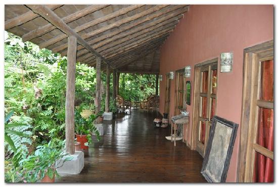 Hacienda La Isla Lodge: Terrasse