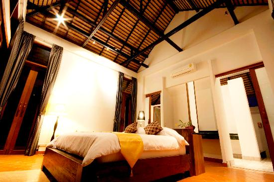 Manee Dheva Resort & Spa: Double Villa Suite - Bedroom