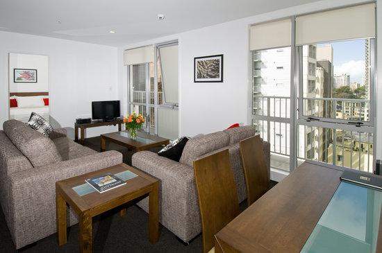 Barclay Suites Auckland: Executive Suite Lounge