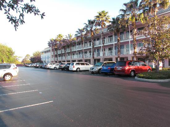 Parking Lot Picture Of Clarion Suites Maingate