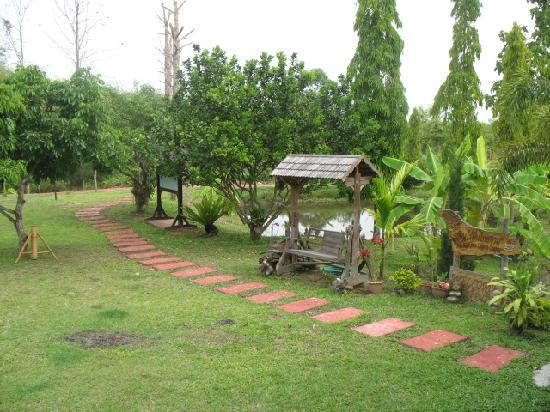 Ban Rai Tin Thai Ngarm Eco Lodge: Peaceful walking