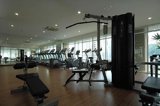 Silka maytower hotel serviced residences gym picture of silka