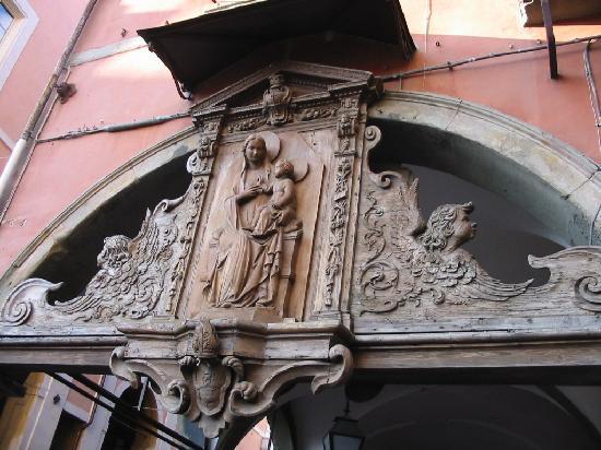 Borgo Stretto : Un particolare del Borgo