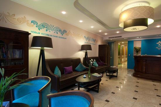 โรงแรมทรีมอสตา: Reception area
