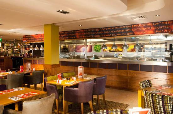 Premier Inn Burton On Trent Central Hotel: Typical Beefeater