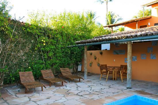 Recanto Rosa Amarela: La zona della piccola piscina