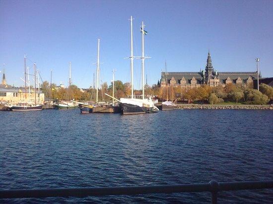 Stromma Under the Bridges of Stockholm: Passing the Nordic Museum