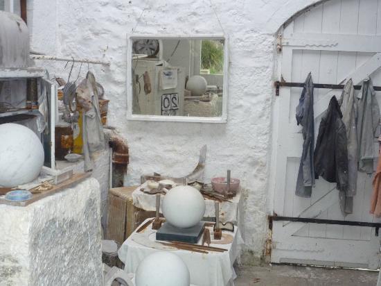 سانت آيفيس, UK: Worshop interior