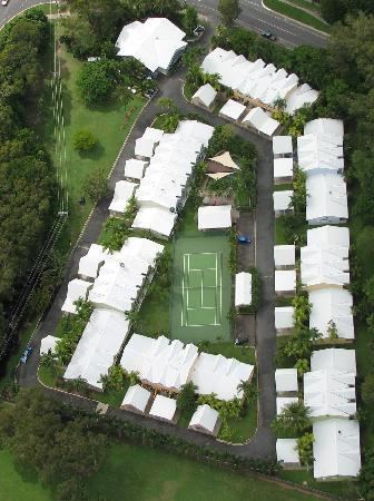 Titree Resort Holiday Apartments: Aerial of Titree