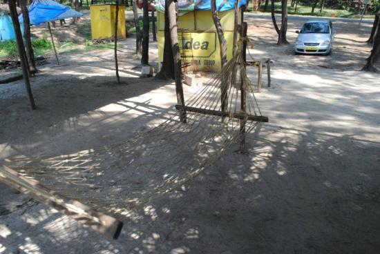 Kashid Beach: Hammocks everywhere