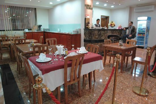 Ribas Hotel: Restaurant