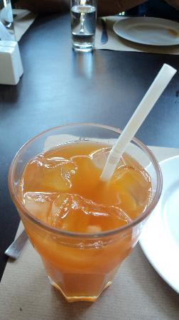 The Fat Chef: Ice Tea with Orange & Ginger