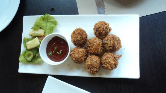 The Fat Chef : Mexican Chicken Balls