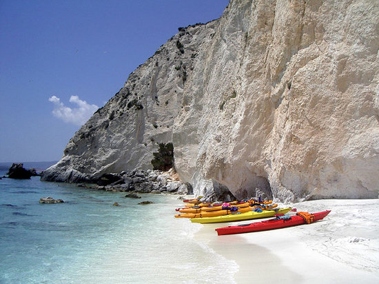 Sea Kayaking Kefalonia - Greece