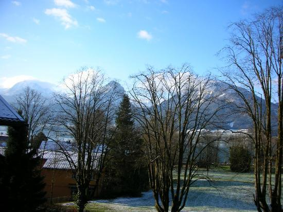 Pension Wolfgangsee : from balcony