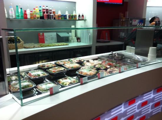 Ouest Express Vaise : Les differents sandwichs et salades