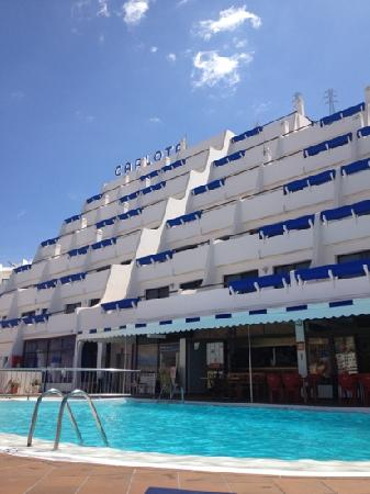 Carlota Apartments : The Carlota and pool