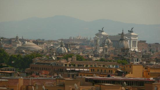Your Rome Vacation: view from Vatican