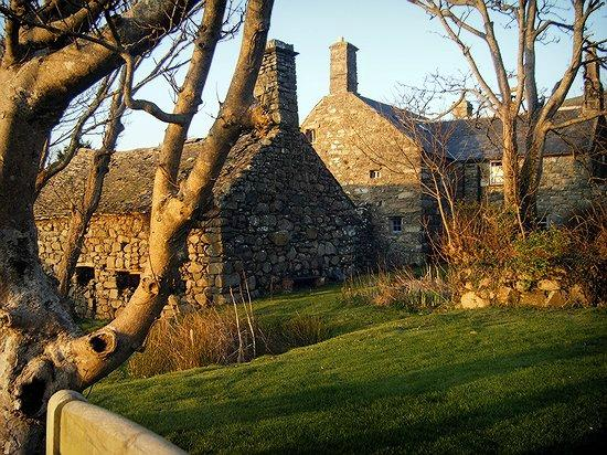 Llwyndu Farmhouse: back of hotel